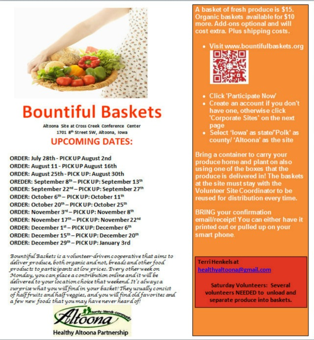 Flyer Bountiful Baskets 7-14