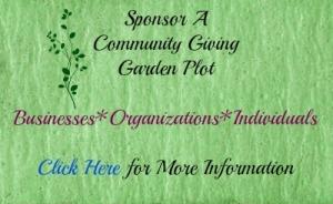Garden Sponsor